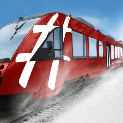 Inlandstågs nya motorvagnar av modell Alstom Lint