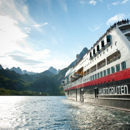 Hurtigruten fjord