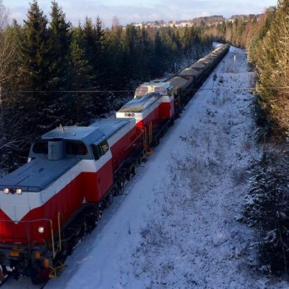 Kalktåg på Inlandsbanan syntes senast 2016