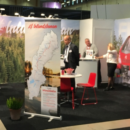 Inlandsbanans Monter Nordic rail 2017