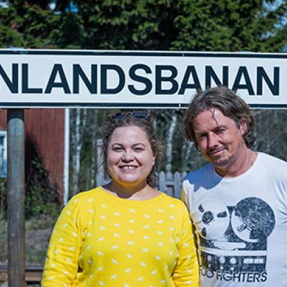 Susanne Jonsson och Gerhard Stenlund
