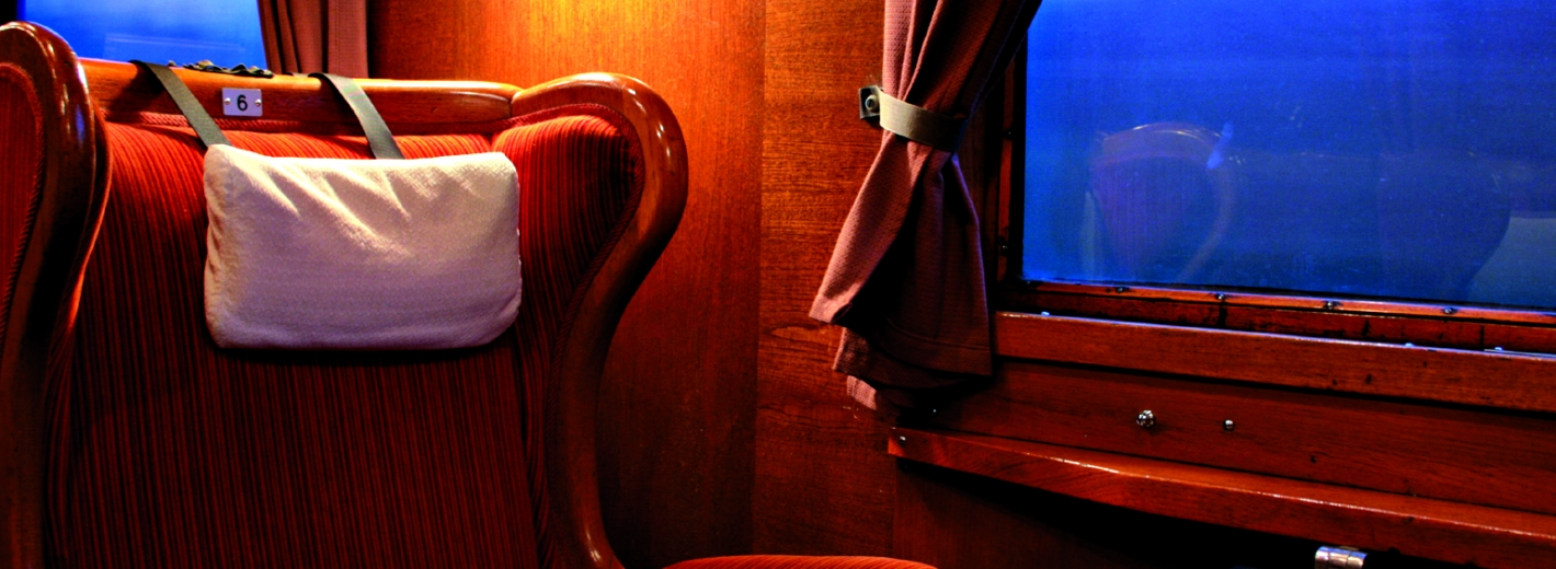 Travel comfortably in first class carriages