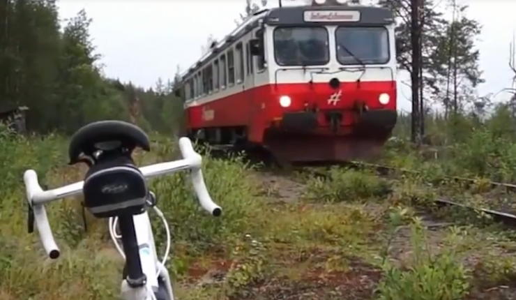Bike adventure in the Swedish inland